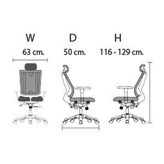 HARA CHAIR เก้าอี้เพื่อสุขภาพ URUUS-2