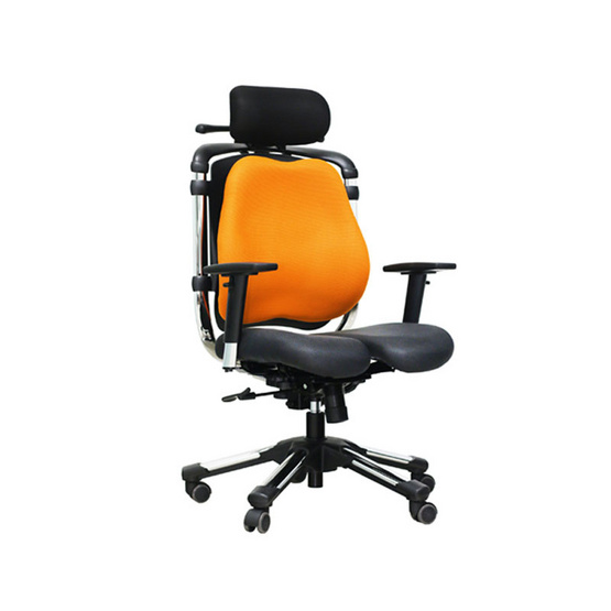 HARA CHAIR เก้าอี้เพื่อสุขภาพ ZENON-2 สีส้ม