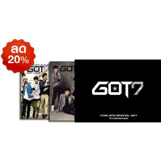 Box set CD GOT7 Thailand Special Set (limited Edition)
