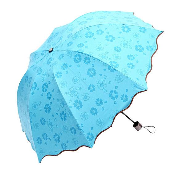 Magic Umbrella ร่มสีฟ้า