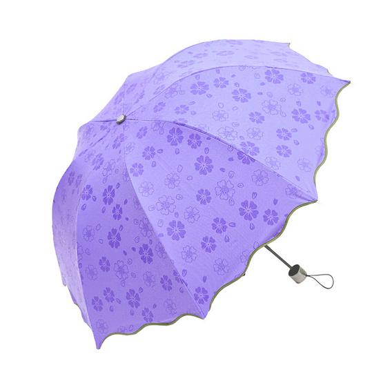 Magic Umbrella ร่มสีม่วง