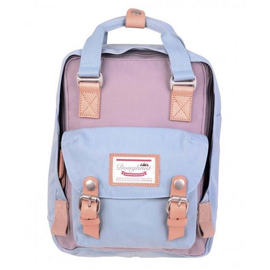 Doughnut กระเป๋าเป้ รุ่น Macaroon D010-7458-F สี Lilac X Light Blue