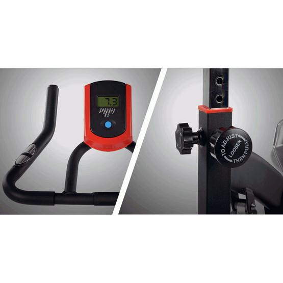TV Direct MAXX SPIN BIKE BLACK/RED จักรยานนั่งปั่นแม็กสปินไบค์ สีดำแดง