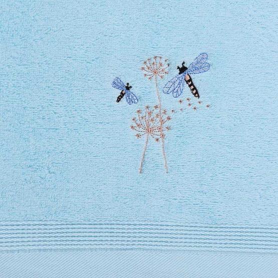 Behome ชุดผ้าขนหนูปักลายแมลงปอ