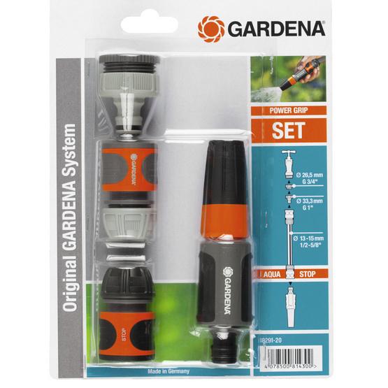 GARDENA ชุดหัวฉีดพร้อมข้อต่อน้ำ รุ่น BASIC SET