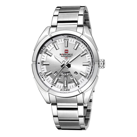Naviforce watch NF9038M Silver
