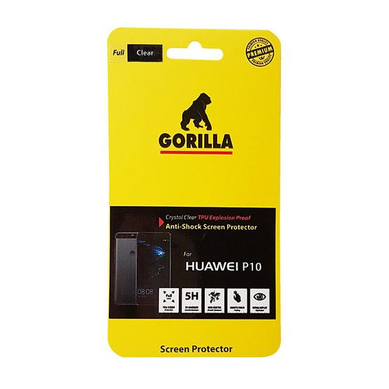 Gorilla Film TPU Huawei P10 Clear 5H+