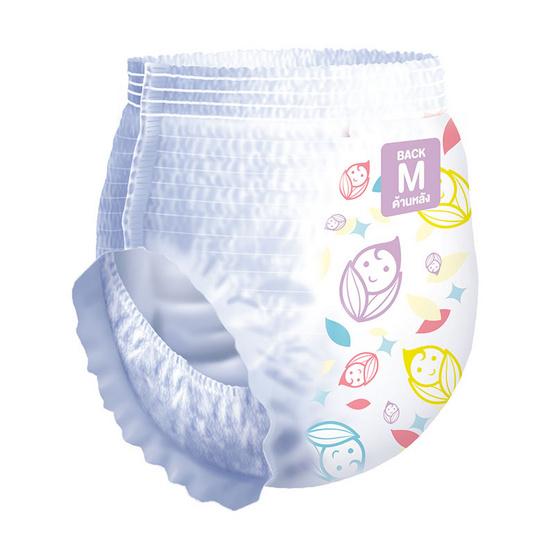กางเกงผ้าอ้อม คิระ คิระ เพียวร์แอนด์ซอฟต์ ไซส์ M 3 แพ็ค 162 ชิ้น (แพ็คละ 54 ชิ้น) ขายยกลัง