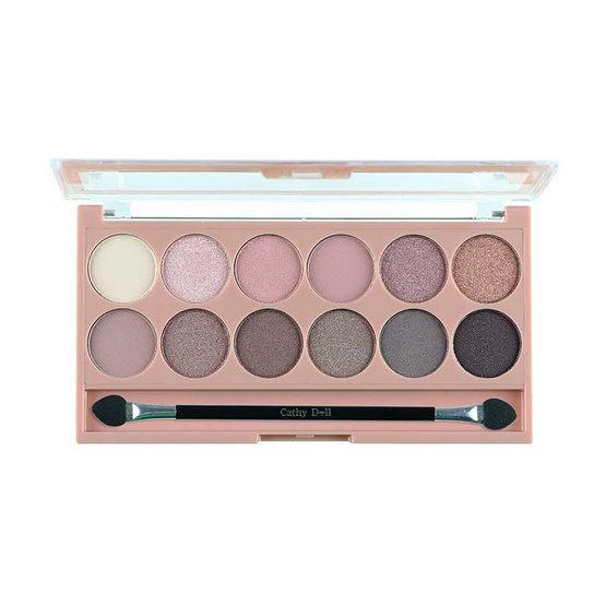 Karmart Cathy Doll Nude Me Eyeshadow 12Colors #03 Pink Champagne