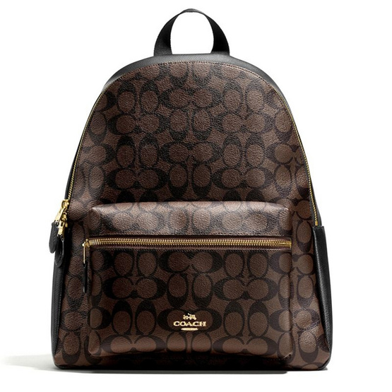 COACH กระเป๋า F58314 CHARLIE BACKPACK IN SIGNATURE