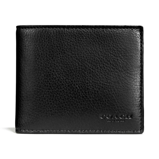 COACH กระเป๋าสตางค์ F74991 COMPACT ID WALLET IN SPORT CALF LEATHER