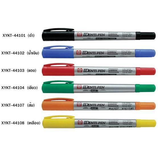 Sakura ปากกา IDENTIPEN 2 หัว SAKURA XYKT-44103 สีแดง 12 ด้าม
