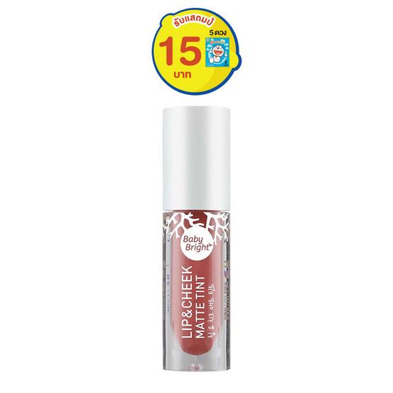 Baby Bright Lip & Cheek Matte Tint #02 Rose Bloom