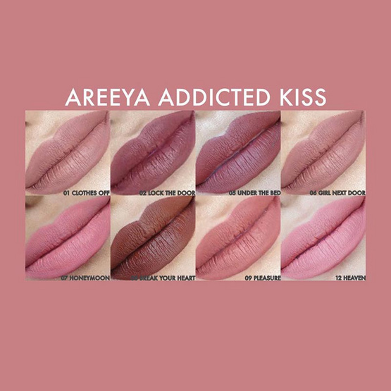 Areeya Addicted Kiss #08 Break your Heart