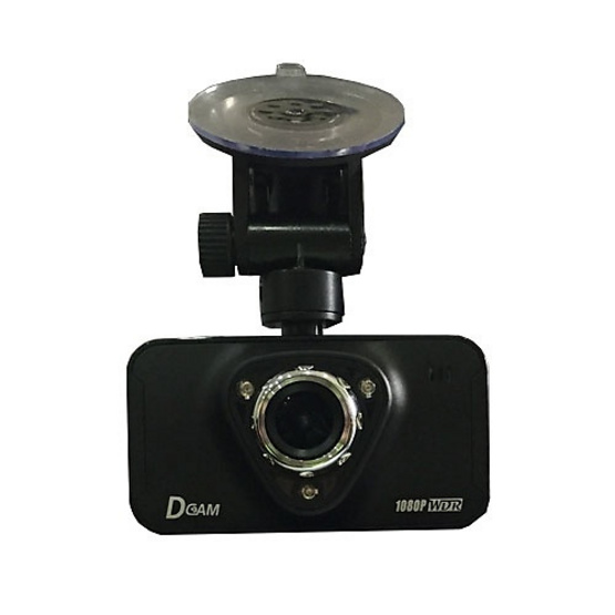 Dcam กล้องติดรถยนต์ D2 Full HD 1080P สีดำ