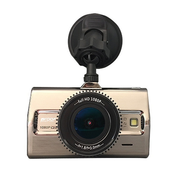 Proof กล้องติดรถยนต์ Platinum II Super Full HD 1080P