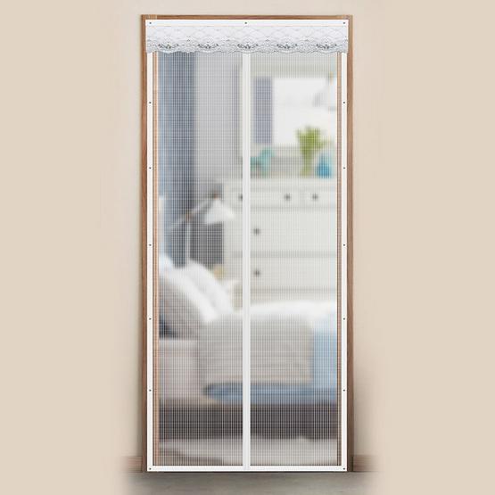 WSP ม่านประตูกันยุงและแมลง ขนาด 90 X 210 ซม. สีเทา