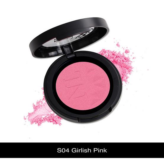 Nario Llarias Blusher 3.9 g. #S04 Girlish Pink