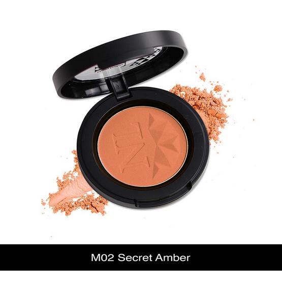 Nario Llarias Blusher 3.9 g. #M02 Secret Amber