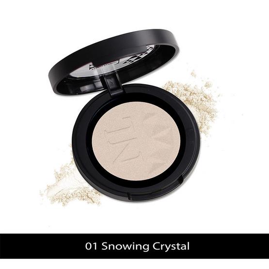 Nario Llarias Highlighter 3.9 g. #01 Snowing Crystal