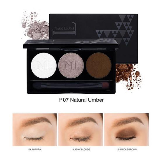 Nario Llarias Eyeshadow Palette #P07 Natural Umber