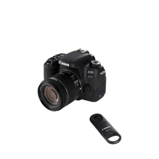 Canon กล้อง DSLR รุ่น EOS 77D Kit 18-55 STM (ประกันศูนย์ไทย)