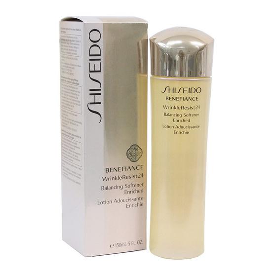 Shiseido Benefiance Wrinkle Resist 24 Balancing Softener Enriched 150 ml.