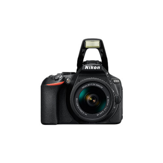 Nikon Digital Camera D5600 with LENS KIT NIKKOR AF-P 18-55mm f/3.5-5.6G VR  LENS ประกันศูนย์ Free!! SD CARD 16GB. + กระเป๋ากล้อง