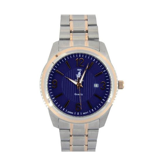 Paris Polo Club นาฬิกาข้อมือ รุ่น 3PP-1504222GT-BU สีน้ำเงิน