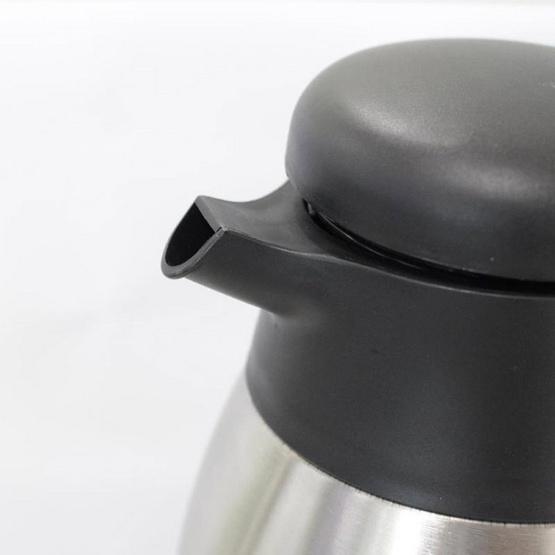 RRS กระติกน้ำร้อน-เย็น สแตนเลส 1200 มล. - สีเงิน
