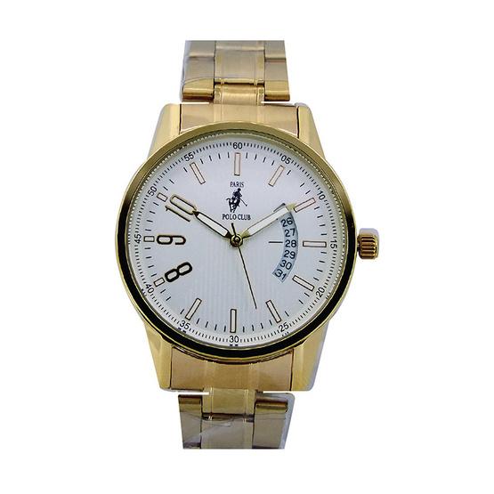Paris Polo Club นาฬิกาข้อมือ 3PP-1504236G ทอง