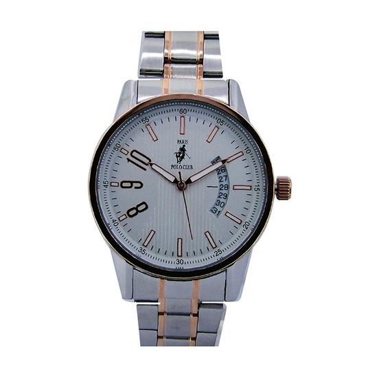 Paris Polo Club นาฬิกาข้อมือ 3PP-1504238G เงิน