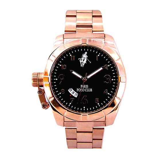 Paris Polo Club นาฬิกาข้อมือ 3PP-1504243G ชมพูทอง
