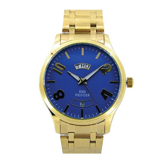 Paris Polo Club นาฬิกาข้อมือ 3PP-1504232G ทอง