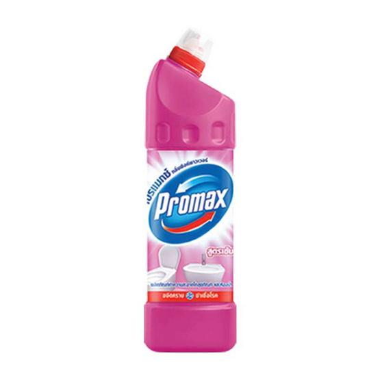 Promax ล้างห้องน้ำสูตรเข้มข้น สีชมพู 900 มล.