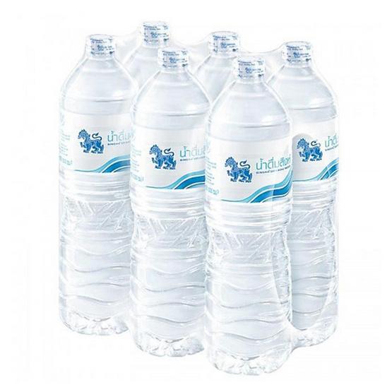 น้ำดื่มสิงห์ 1500 มล. (แพ็ก 6 ขวด)