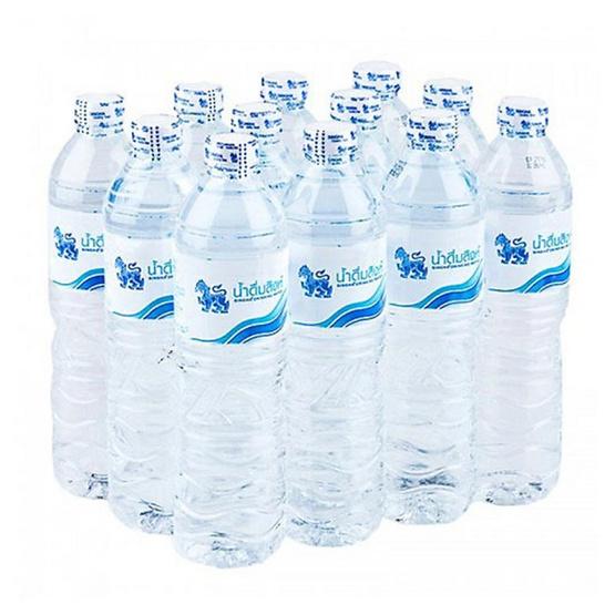 สิงห์ น้ำดื่มขวด 750 มล. (แพ็ค 12 ขวด)