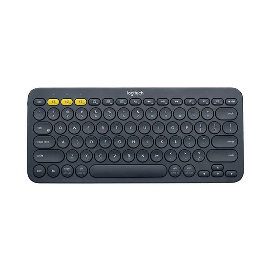 Logitech Multi-Device Bluetooth Keyboard K380 (แถมสติ๊กเกอร์ภาษาไทยไม่มีสกรีนไทย)