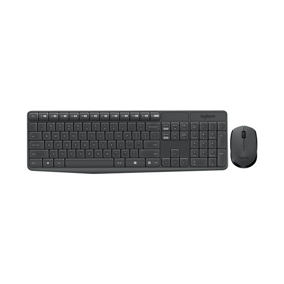 Logitech Wireless Combo MK235 Black TH