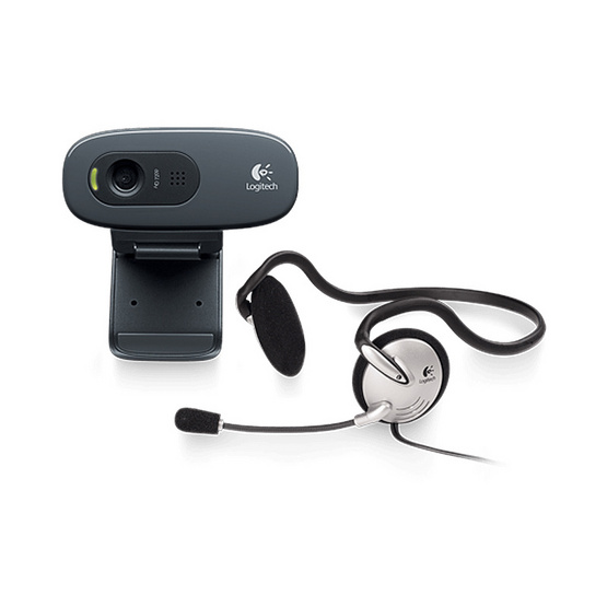 Logitech HD Webcam C270h Stereo Headset