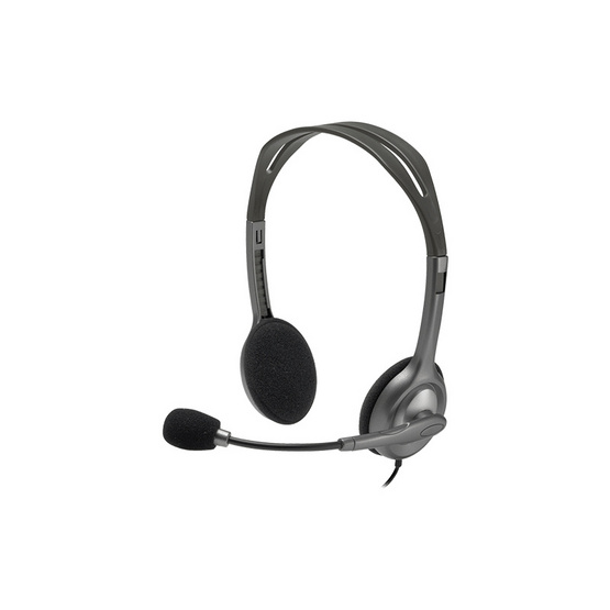 Logitech Stereo Headset H111 Black