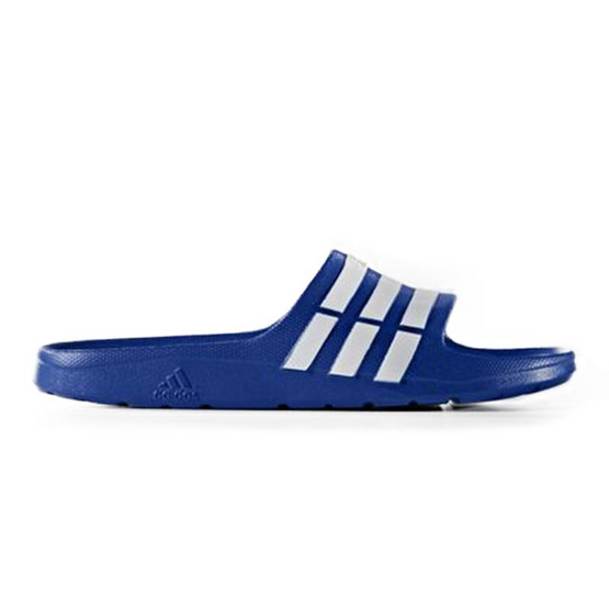 Adidas รองเท้าแตะสวม รุ่น Duramo Slide สีน้ำเงิน