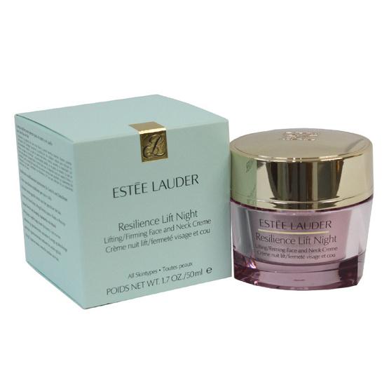 ใครเคยใช้ Estee Lauder Resilience Lift Night Lifting/Firming Face and Neck Creme 50 ml. ครีมหน้าใสไร้สิวที่ดีที่สุด