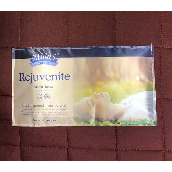Midas ที่นอนปิคนิคยางพารา Rejuvenite 3 ฟุต