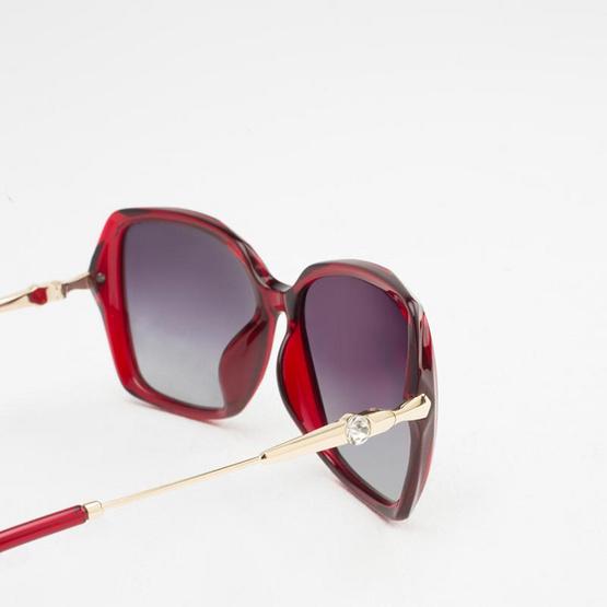 Marco Polo แว่นกันแดด รุ่น SMDJ6062 C2 สีแดง