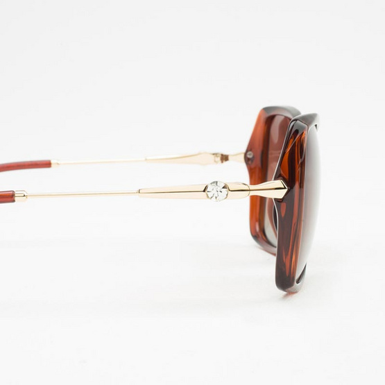 Marco Polo แว่นกันแดด รุ่น SMDJ6062 C4 สีน้ำตาล