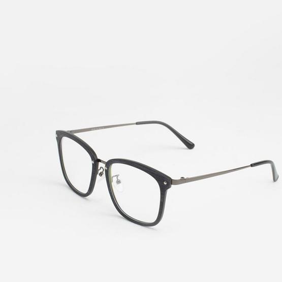 Marco Polo กรอบแว่นตา รุ่น EMDU5853 WBK สีลายไม้ดำ