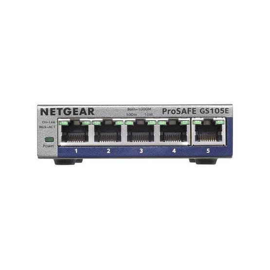 NETGEAR ProSAFE Plus 5-port Switch GS105E