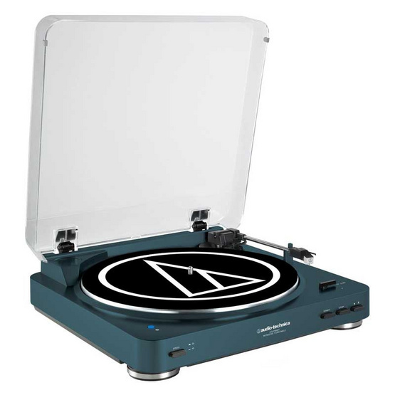Audio-Technica เครื่องเล่นแผ่นเสียงAutomatic รุ่นLP60 USB Blue