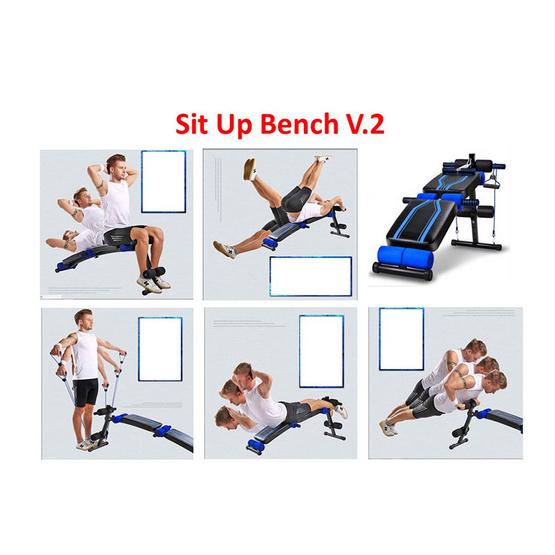 THAI SUN SPORT Sit Up Bench V.2 เก้าอี้ซิทอัพ ม้านั่งซิทอัพ